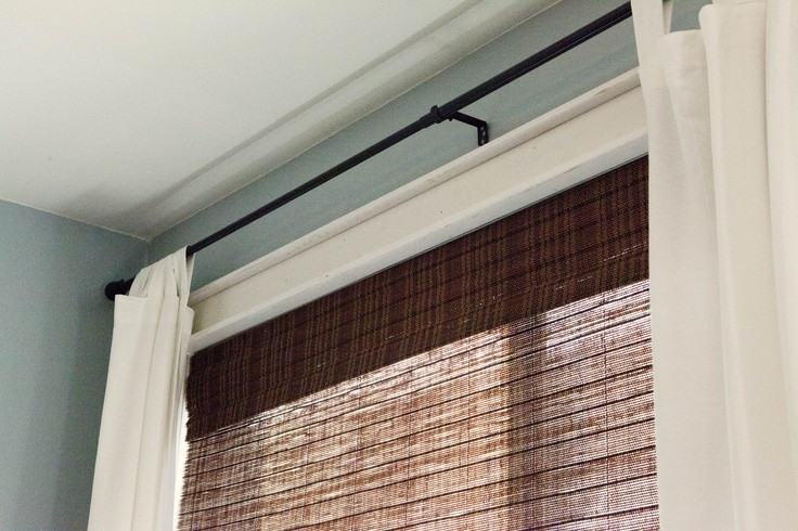 craftsman style window trim  I have this trim in most of my home...Love the blinds + curtains