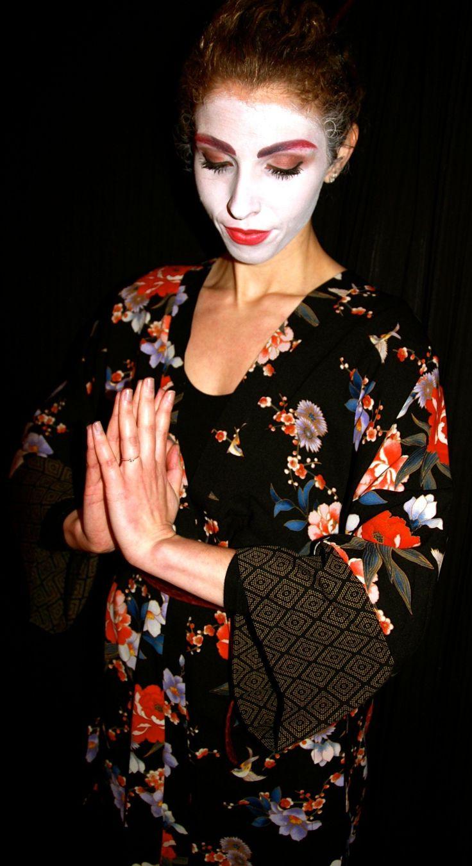 geisha girl halloween makeup pictures lieu of