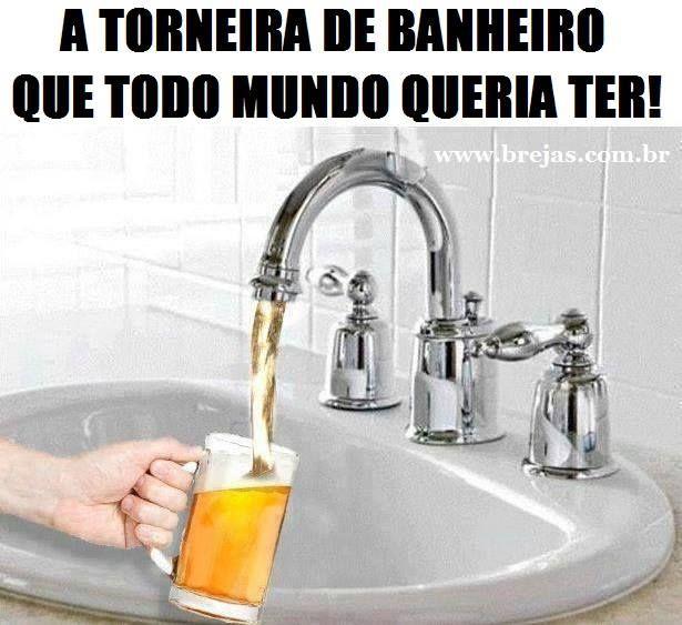 A torneira de banheiro que todo mundo queria ter | Este e outros 20 memes de cerveja só no Brejas