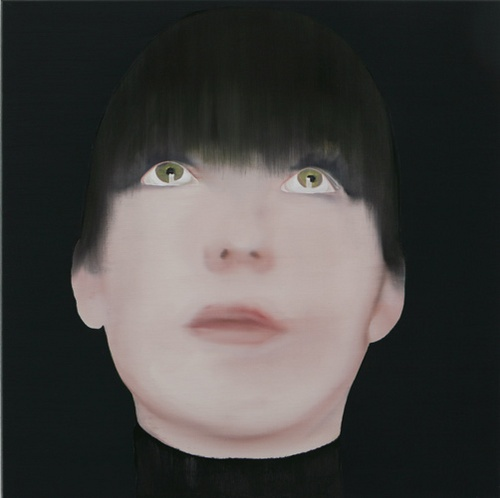 Katinka Lampe (1963). De schilderijen van Katinka Lampe tonen portretten waarop met precisie en groot gevoel van schoonheid jonge modellen zijn afgebeeld zonder een exacte weergave van specifieke personen te zijn. De wijze van schilderen, beheerst en glad, en de toevoeging van vervreemdende objecten aan de modellen, verlenen de schilderijen een hoge mate van abstractie.