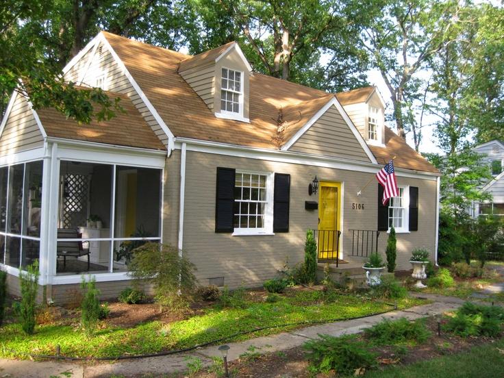 yellow brick house red door. glamorous what color to paint front door of yellow brick house red