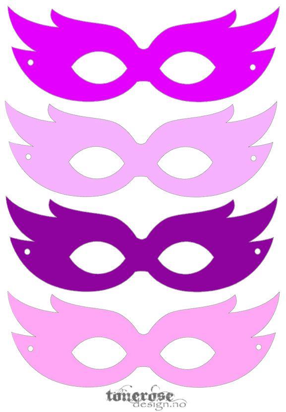 superhelt-masker rosa