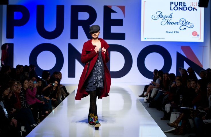 Fall/Winter 2013 at the Pure London stage