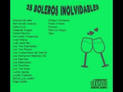 25 Boleros Inolvidables CD 1