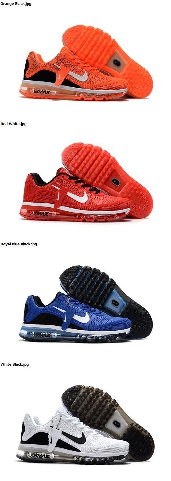 Nike Air Max 2017.5 KPU Men shoes Free Shipping Orange Black Red White