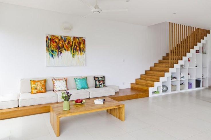minimalist furniture design. Interior Design Modern Minimalist Furniture And Creative Integration Of Stairs Storage For Living Room
