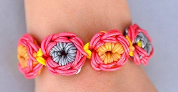 Loom Bands, tutorial: istruzioni per fare i braccialetti elastici con e senza telaio