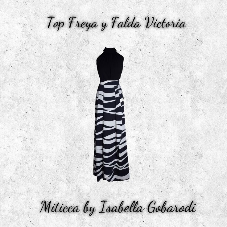 Falda Victoria de Miticca by Isabella Gobarodi