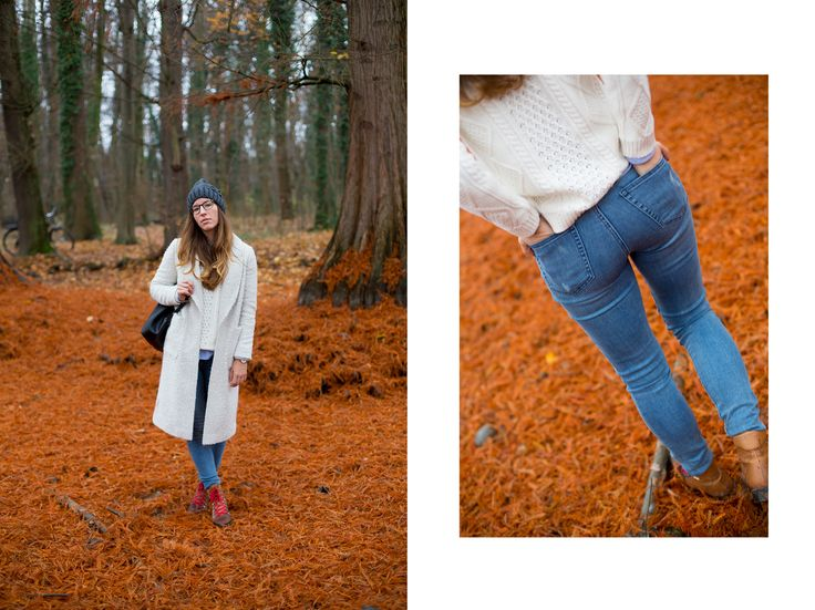 Coat:  Marks & Spencer   Jeans: GAP   Sweater: GAP   Beanie: GAP   Backpack: Zara   Glasses: Persol   Boots: Baldinini.