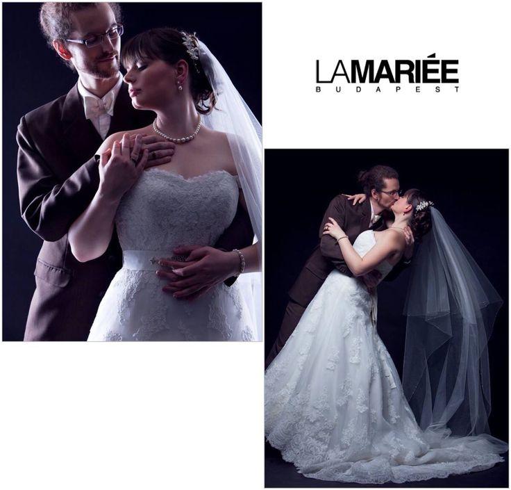 Uceda esküvői ruha - Pronovias kollekció - Dóra menyasszonyunk - La Mariée Budapest http://lamariee.hu/eskuvoi-ruha/pronovias-od/uceda