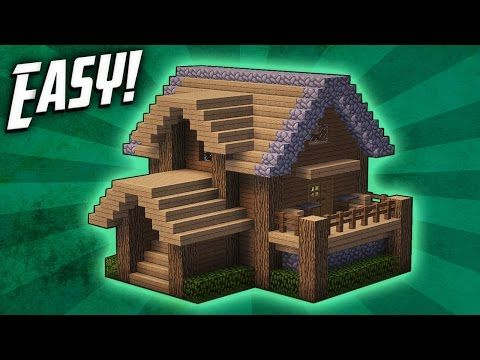 Minecraft  How To Build A Survival Starter House Tutorial   4    YouTube. 25  unique Easy minecraft houses ideas on Pinterest   Minecraft