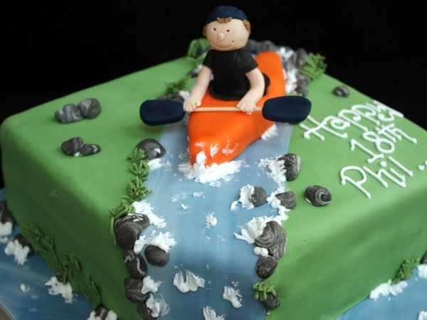 14 Best Images About Canoe Cake On Pinterest This