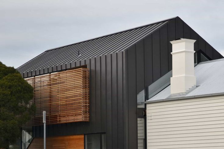 Black Metal Wall Cladding : Choosing The Best Cladding Materials For Your House