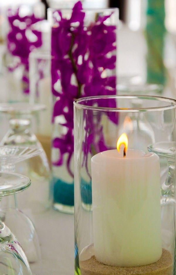 22 Best Images About 2014 Diy Beach Wedding Centerpiece Ideas On Pinterest Candle Decorations
