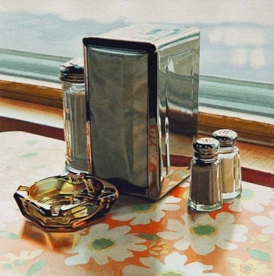 Ralph Goings (May 25, 1928 in Corning, California) is an American painter closely associated with the Photorealism movement of the late 1960s and early 1970s.