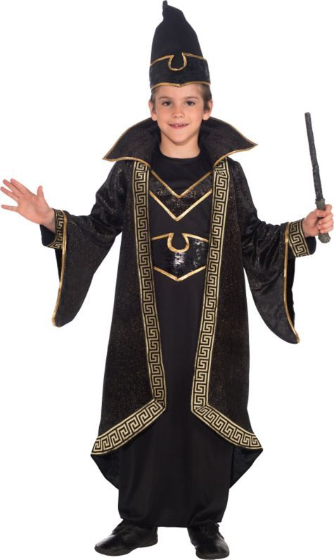 Boys Wizard Costume Deluxe - Party City  sc 1 st  Pinterest & 19 best Wizard images on Pinterest | Halloween decorating ideas ...