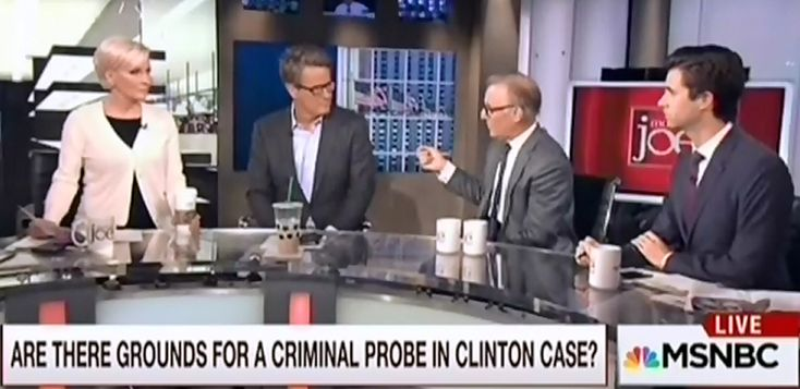 """Morning Joe Is Desperate For A Clinton Scandal MSNBC's Morning Joe Edits Out David Ignatius' Debunking Of Clinton Email """"Scandal"""""""