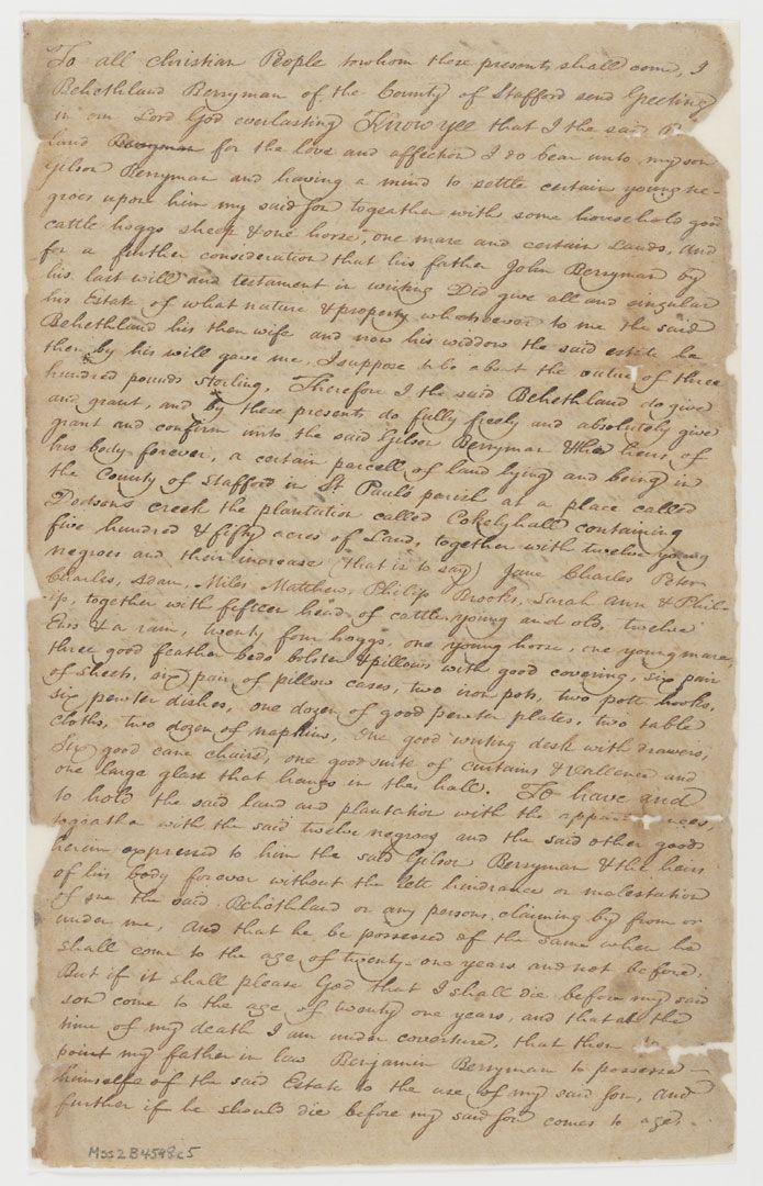 Unknown No Longer - Virginia Historical Society