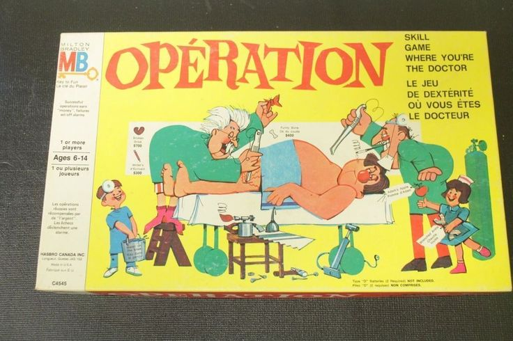 Vintage Operation Board Game ~ Doctor Smoking Cigarette! ~ 100% Complete! ~ LQQK | Toys & Hobbies, Games, Board & Traditional Games | eBay!