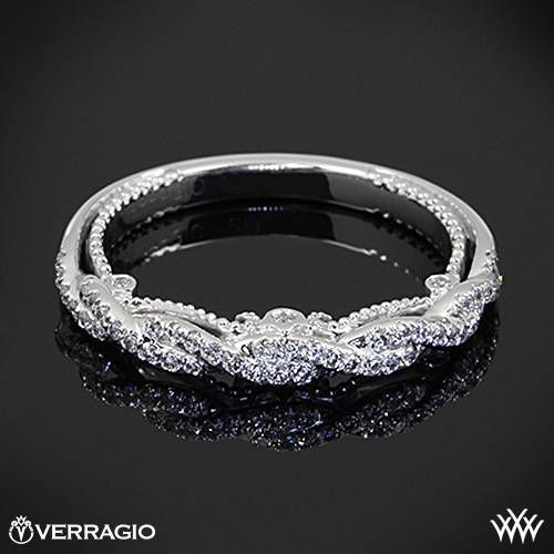 Verragio Beaded Twist Diamond Wedding Ring