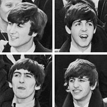 The Beatles: One of my favourite bands, one of the best. omg.....love love love this picture!! look at their happy smiling faces!! *sigh*