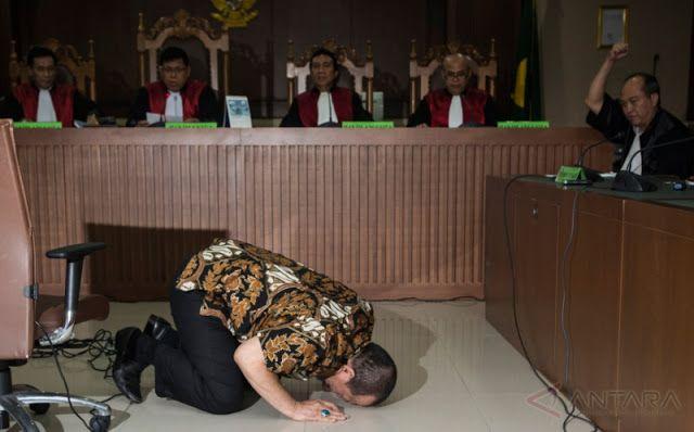Jakarta - Mantan Ketua Umum Kamar Dagang dan Industri (Kadin) Jawa Timur La Nyalla Mahmud Matta...