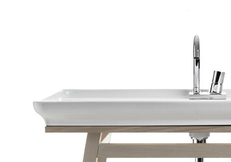 Naked, design Meneghello Paolelli Associati #bathroom #bagno #washbasin #furniture #Artceram