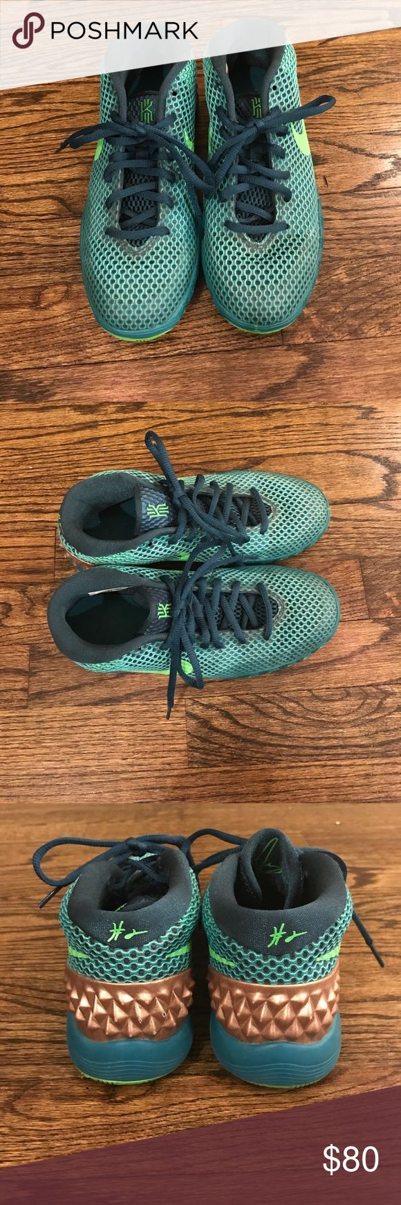 Boys JBY Kyrie Sneakers Boys JBY Kyrie Sneakers • Size 4 • Gently Used • See all pics Nike Shoes Sneakers
