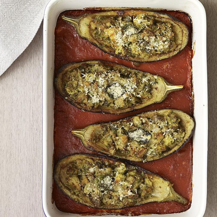 Vegetarian Stuffed Zucchini With Brown Rice, Black Beans, Chiles ...