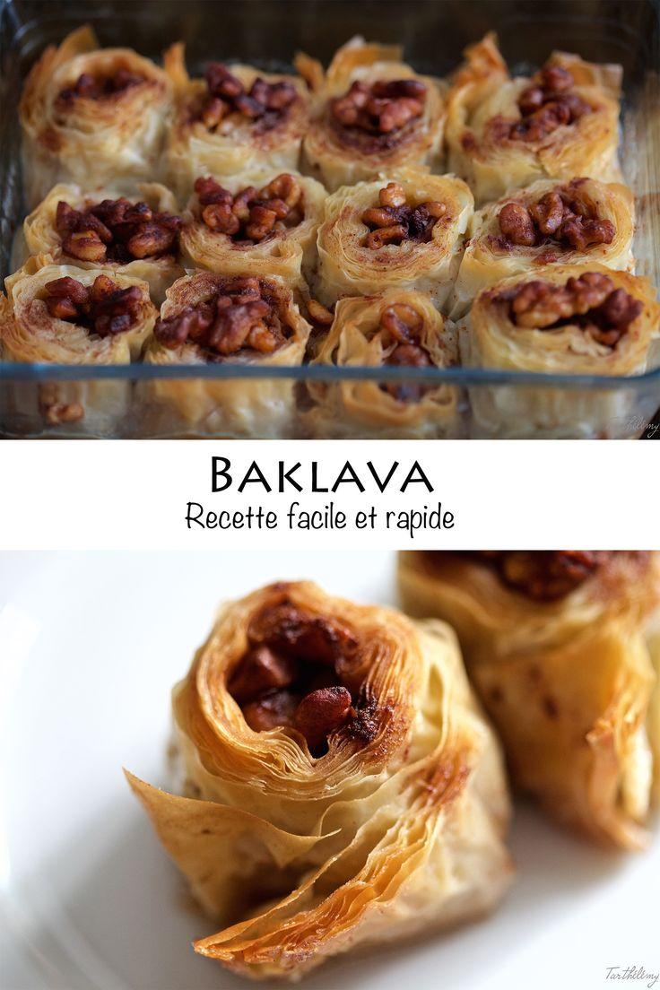 Le meilleur baklava du monde, et simplissime! | Cuisine en Scène, le blog cuisine de Lucie Barthélémy - CotéMaison.fr