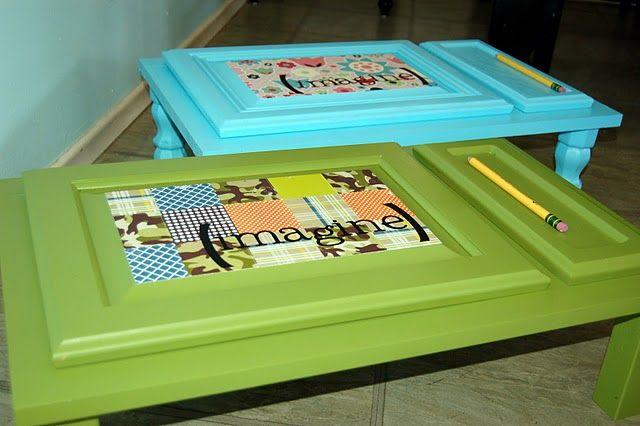 Kid craft table