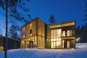 Scandinavian cabins: Anttolanhovi Art & Design Villas, Anttola, Finland
