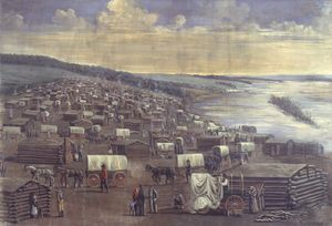 Winter Quarters of the Latter Day Saints (North Omaha, Nebraska) - Wikipedia, the free encyclopedia