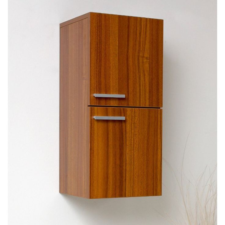 Fresca Teak Bathroom Linen Side Cabinet - FST8091TK