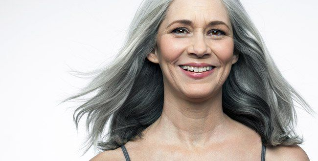 Silver is chic, trendy, and yes, can even look youthful if you do it the…