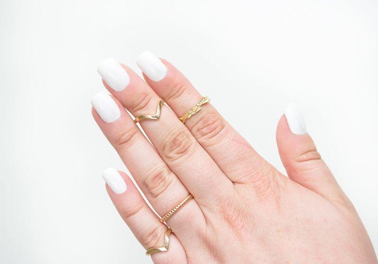 IsaDora ♥ Wonder Nail 685 White China http://beautyboulevard.se/diik Nail Design Nails Naglar Nageldesign Swatch Inspiration White Vit Simple Minimalist