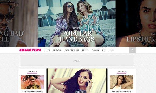 Braxton - Premium Wordpress Magazine Theme #wordpress #wp #magazine #theme #website #web #news #webdesign