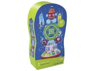 super dolle toren puzzel 36st Crocodile Creek | kinderen-shop Kleine Zebra