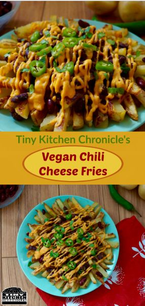 Vegan Chilli Cheese Fries