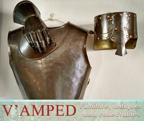 Get this Genuine Scottish McGregor armour available from #VampedFurniture. Visit us in-store or contact Rory on 076 983 4008 for more information. Delivery available nationwide on arrangement.