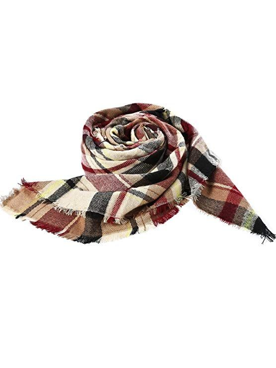 38020a02d7c2 Cape Blanket Zando Soft Chunky Women Fall Stylish Warm Scarf wCtvCpq