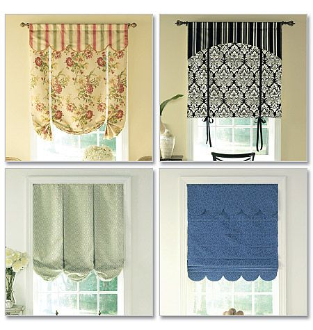 Waverly Sewing Pattern B5159 Window Treatments Window Treatment Pinterest Bay Window