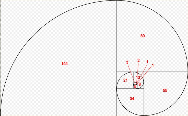 fibonacci | Tiling squares whose sides are consecutive Fibonacci numbers and then ...