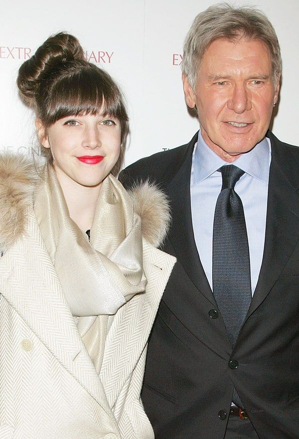 """Harrison Ford revealed on Monday, March 7, that his daughter, Georgia, suffers from epilepsy, telling the 'New York Daily News,' """"She's my hero"""" — get the details"""
