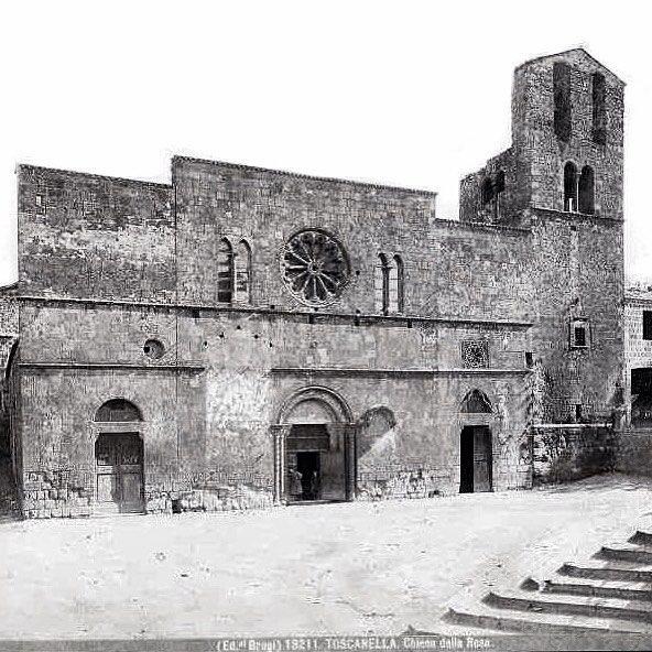 Historic shot of Tuscania circa 1900 or as it was called then 'Toscanella' or little Tuscany. #Tuscania #Toscanella #history #travel #travelgram #tour #italy #maremma #tuscia #picture #old