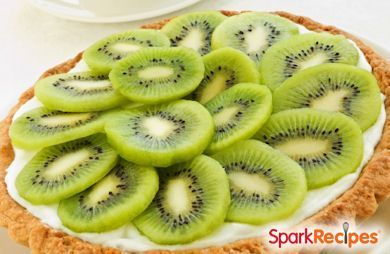 This quick and easy kiwi tart makes a delicious, refreshing dessert and a colorful centerpiece. Try it at your next special occasion.