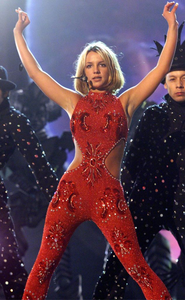 Red Hot from Britney Spears' Best Concert Costumes | E! Online