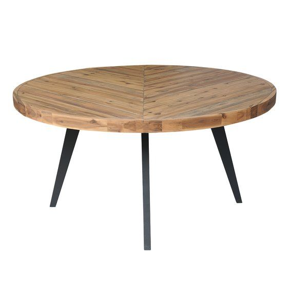 Fiskeville Acacia Round Dining Table Round Dining Table Round Dining Large Round Dining Table