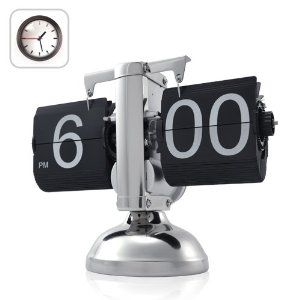Niceeshop Retro Flip Down Clock