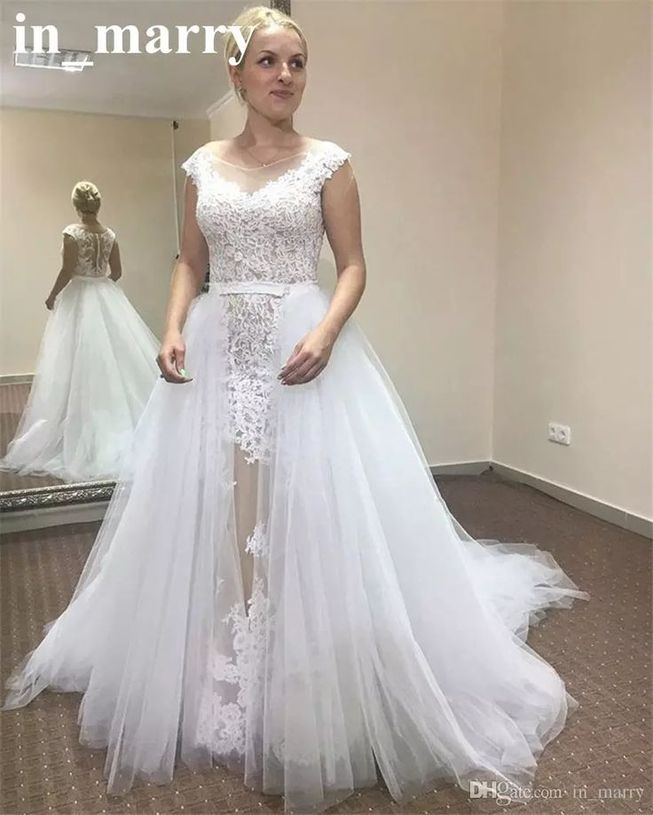 The 25 best ideas about arabic wedding dresses on for Plus size illusion wedding dress
